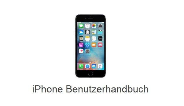 iPhone 6s Bedienungsanleitung: Handbuch für iOS 9 zum Download