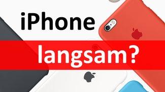 iPhone immer langsamer – Absicht von Apple?