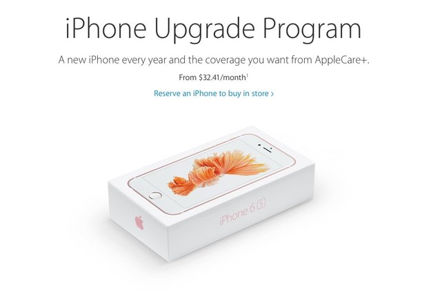 "Apples Mietmodell ""iPhone Upgrade Program"" kommt in den USA gut an"