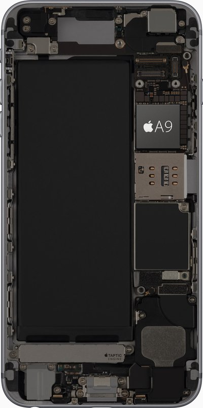 Der Apple A9 im iPhone 6s