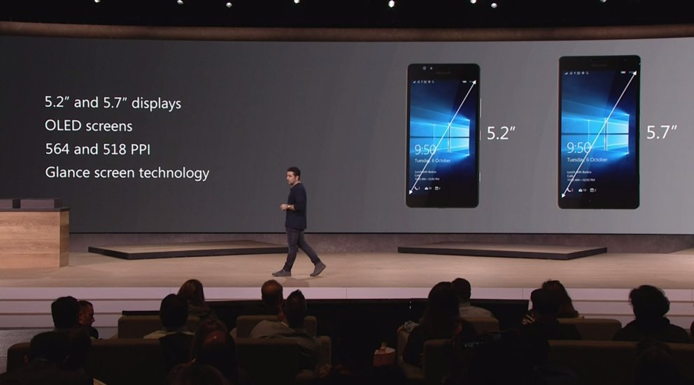 lumia 950 Display