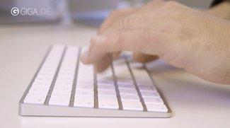 Das neue Apple Magic Keyboard ausprobiert (Video)