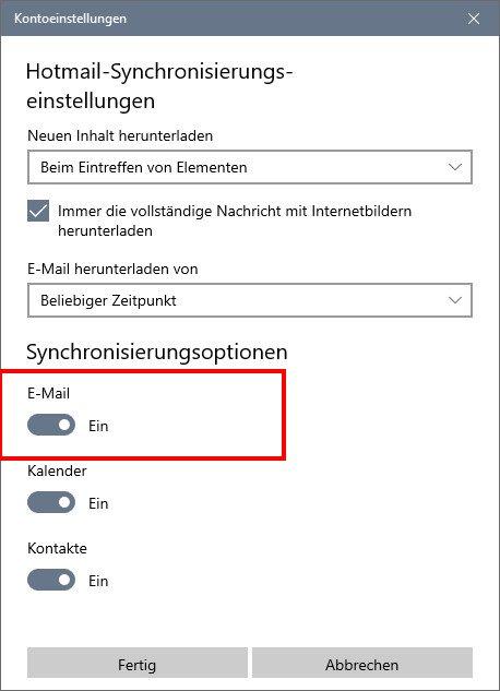Windows 10 Mail App Funktioniert Nicht
