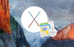 Karten-App auf dem Mac: die...