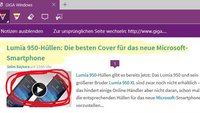Microsoft Edge: Notizen auf Webseiten erstellen und speichern – So geht's