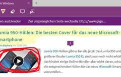Microsoft Edge: Notizen auf...