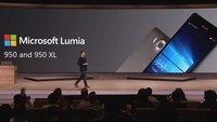 Microsoft Lumia 950 (XL) & Lumia 550 offiziell vorgestellt