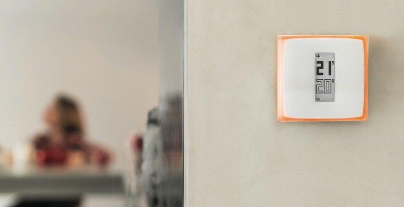 Das Thermostat-Modul für das Wohnzimmer.