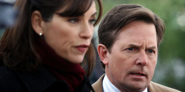 "Michael J.Fox in ""The Good Wife"" ©CBS"