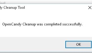 OpenCandy Cleanup Tool