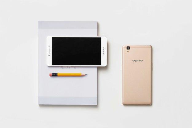 OPPO R7s: Elegantes Mittelklasse-Smartphone mit 4 GB RAM und 5,5-Zoll-Display angekündigt