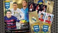 Panini FIFA 365: Neue Sticker-Kollektion 2015 sammeln und tauschen