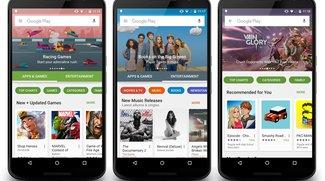 Play Store-Redesign: So frisch wird Googles App-Store bald aussehen