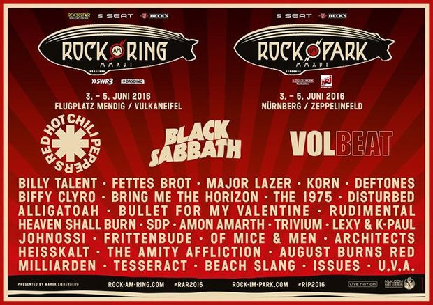 Rock am Ring 2016: Line-Up, Bands, Termin, Tickets und Infos