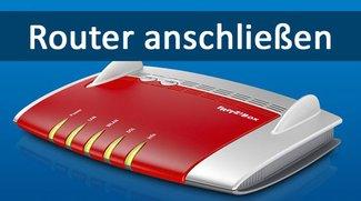 Router anschließen – Anleitung mit Bildern