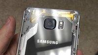 So lecker sieht ein Samsung Galaxy Note 5 mit transparenter Rückseite aus