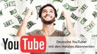 YouTuber mit den meisten Abonnenten in Deutschland (2015)