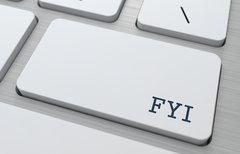 FYI: Bedeutung der Abkürzung...