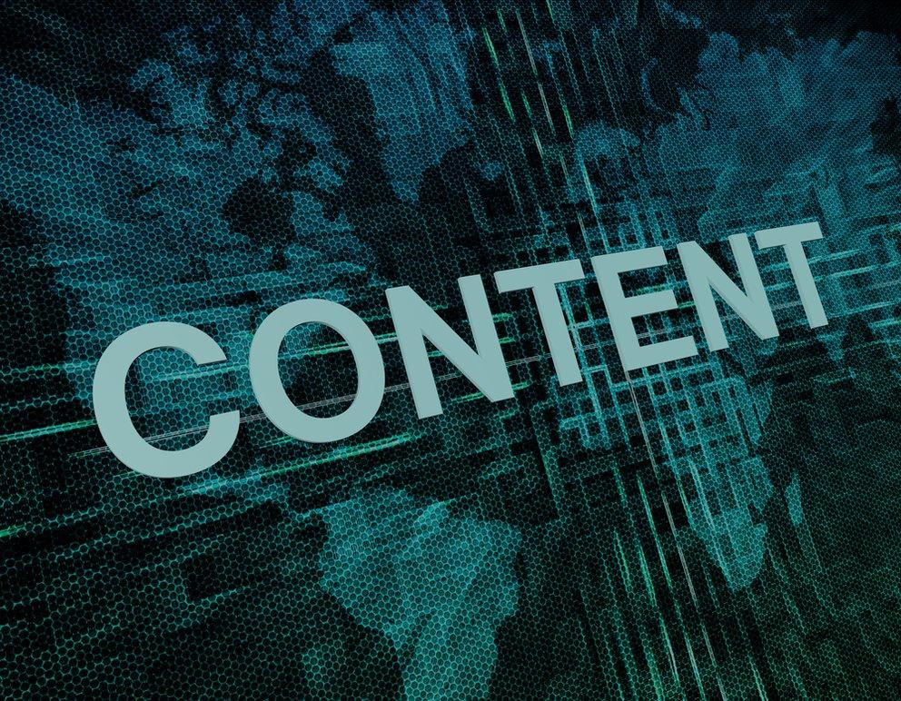 Weltkarte computerdarstellung und Content