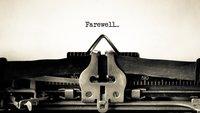 Abschiedslieder: schöne Lieder für traurige Anlässe