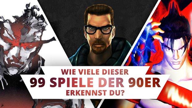 Bilderrätsel: Erkennst du diese 99 Videospiele an nur einem Screenshot?
