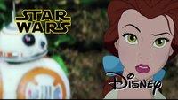 Disney-Figuren in Star Wars? Seht den besten Star-Wars-7-Trailer aller Zeiten!