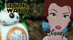 Disney-Figuren in Star Wars? Seht den besten Star-Wars-7-Trailer aller Zeiten!