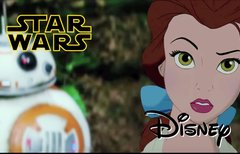 Disney-Figuren in Star Wars?...