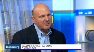 Steve Ballmer: Nur Microsoft macht Apple bei Hardware Konkurrenz