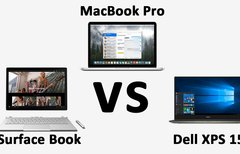 Surface Book vs. MacBook Pro...