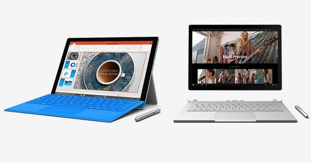 Surface Book & Surface Pro 4 in ersten Hands-On Videos