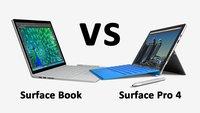 Surface Pro 4 vs. Surface Book – Hardware-Daten im Vergleich