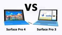 Surface Pro 4 vs. Surface Pro 3 – Daten im Vergleich
