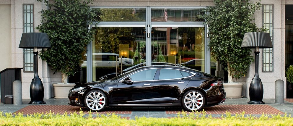 Destination Charging tesla vorm hotel