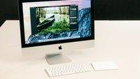21,5 Zoll iMac mit Retina-4K-Display im Test (2015): Allrounder mit Superdisplay