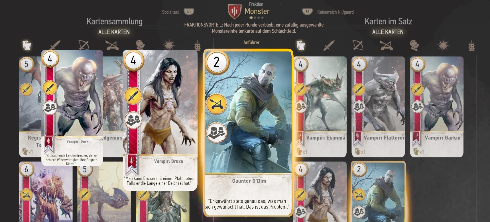 The Witcher Karte.The Witcher 3 Hearts Of Stone Gwint Karten Fundorte