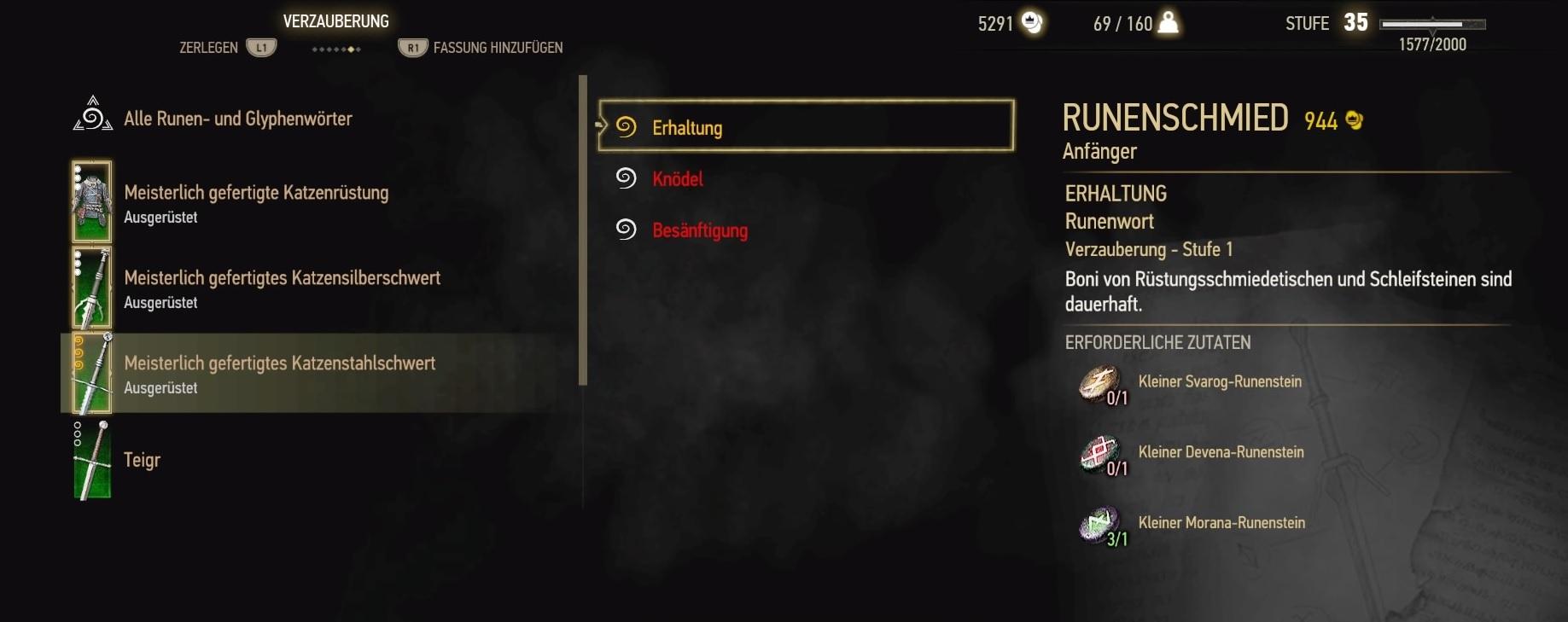 Witcher 3 Alchemie Rezepte