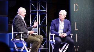 Tim Cook spricht über Apple-Music- und Apple-Watch-Zahlen, Autos und mehr