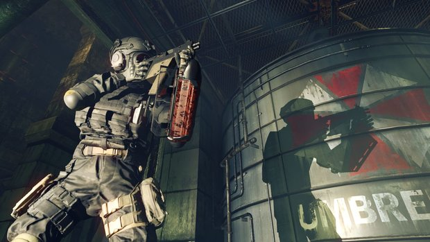 Resident Evil Umbrella Corps: Live-Action-Trailer und weitere Gameplay-Szenen im Video!