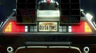 Seht wie eine Szene aus Zurück in die Zukunft in GTA 5 aussieht