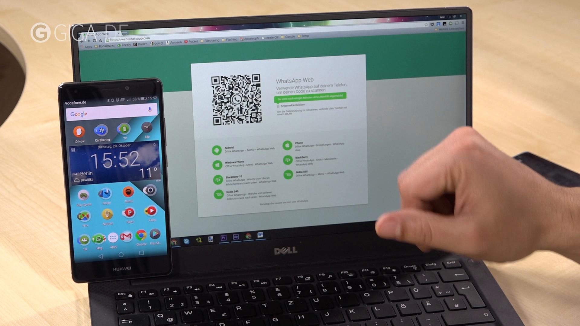Whatsapp Am Pc Nutzen So Funktioniert Whatsapp Web