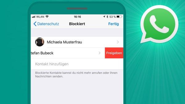 whatsapp kontakt online nur ein haken