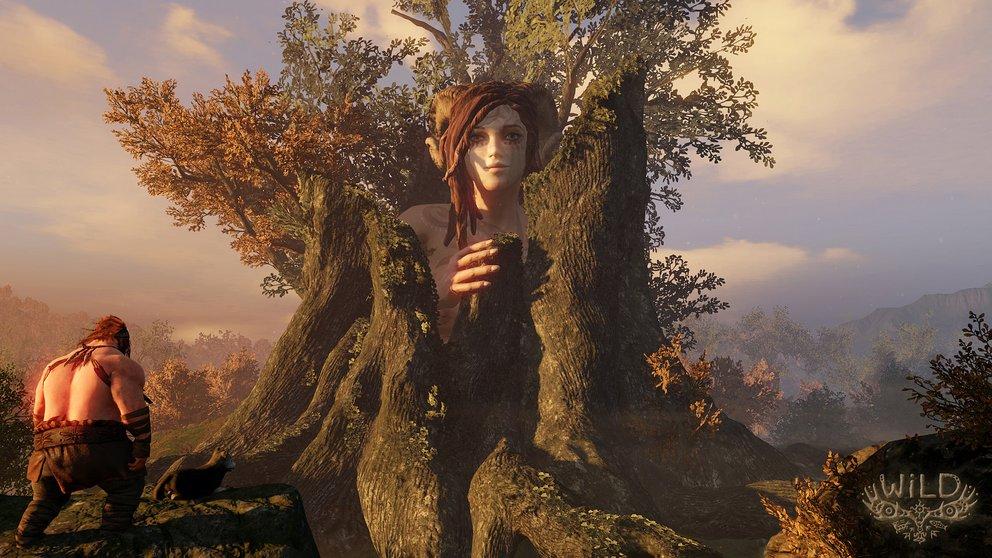 WiLD: Die Geister des Waldes begegnen euch in übergroßen Ausmaßen.