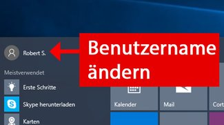 Windows 10: Benutzername ändern (lokaler & Microsoft-Account)