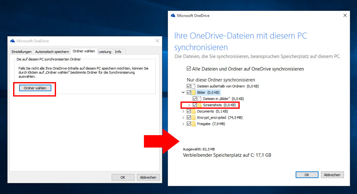 Onedrive Android Synchronisieren