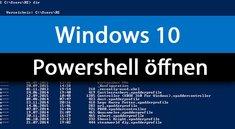 Windows 10: Powershell öffnen (auch als Admin) – so geht's