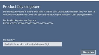 Windows 10 aktivieren (auch mit altem Key von Windows 7 & 8)