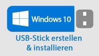 Windows 10: Bootfähigen USB-Stick erstellen – Anleitung