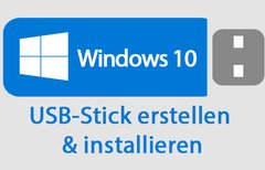Windows 10: USB-Stick...