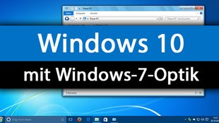 Windows 10: Theme und Optik aus Windows 7 nutzen – so geht's